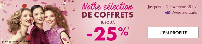 -25% coffrets
