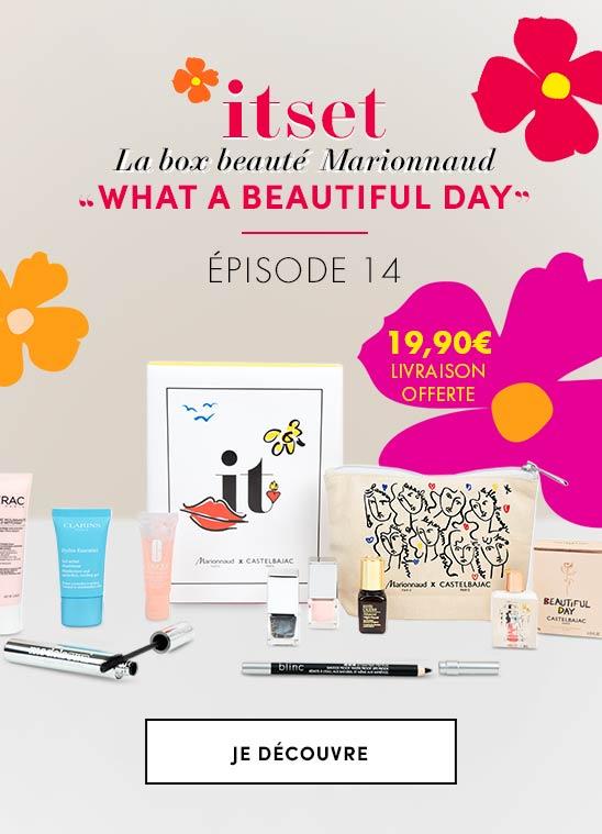 ITSETBOX N°14 WHAT A BEAUTIFUL DAY: la box beauté par Marionnaud