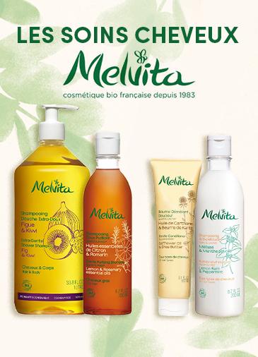 Les soins cheveux Melvita