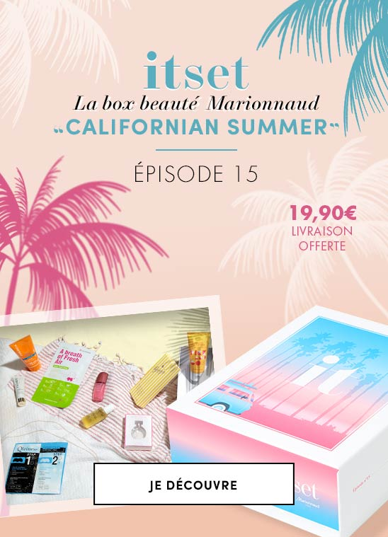 Itset Box Episode N°15 Californian Summer box beauté