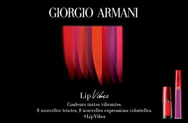 Lip Vibes Maestro Armani nouveau rouge à lèvres