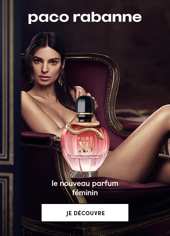 Découvrez l'eau de Parfum Pure XS for Her de Paco Rabanne