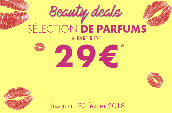Beauty deals : une sélection de parfums à partir de 29€