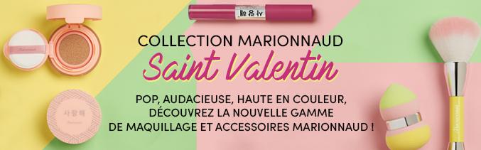 Collection marionnaud saint valentin