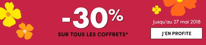 -30% sur tous les coffrets*
