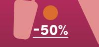 Soldes, sélection -50%