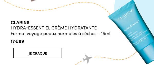 LARINS HYDRA-ESSENTIEL CRÈME HYDRATANTE 15MLFormat voyage peaux normales à sèches - 17,99€