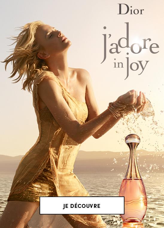 Découvrez l'eau de toilette Dior J'adore in Joy