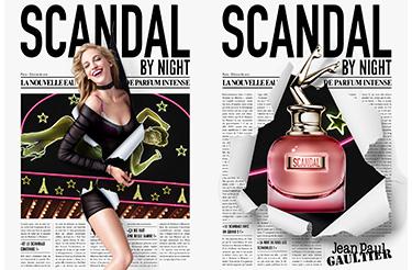 Découvrez la nouveauté Eau de parfum Scandal by Night de Jean Paul Gaultier