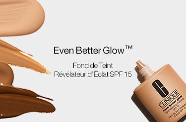Even better glow fond de teint Clinique Révélateur d'éclat SPF15